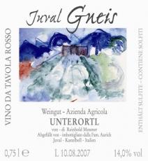 Gneis Juval 2014 Weingut Unterortl