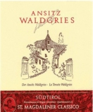 St. Magdalener classico Ansitz Waldgries 2016